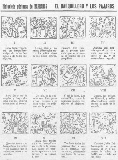 Figure 6: Rafael Barradas. La Gaceta Literaria 58