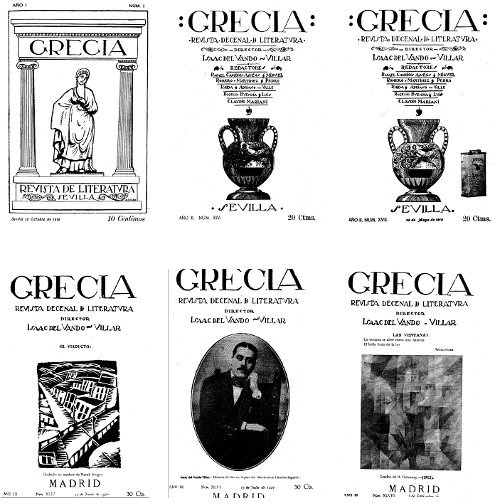 Figure 5: Covers from Grecia