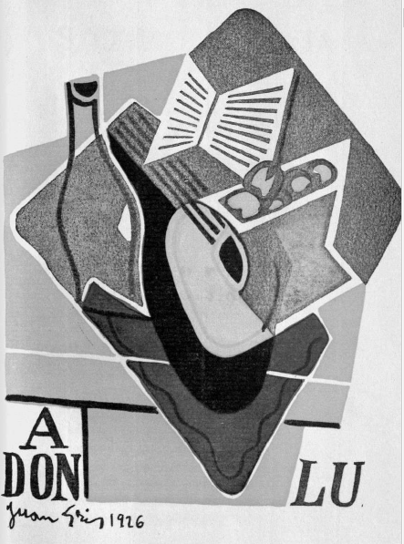 Figure 3: Juan Gris Litoral No. 5,6,7