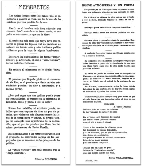 Figure 1: Martín Fierro 8/9 and 12/13